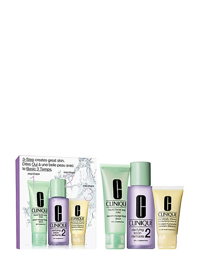 3-Step Skin Care Intro Set, Skin Type 2 - CLEAR