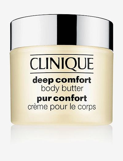 Deep Comfort Body Butter - body cream - clear