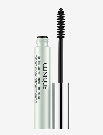 High Impact Waterproof Mascara, Black - mascara - black