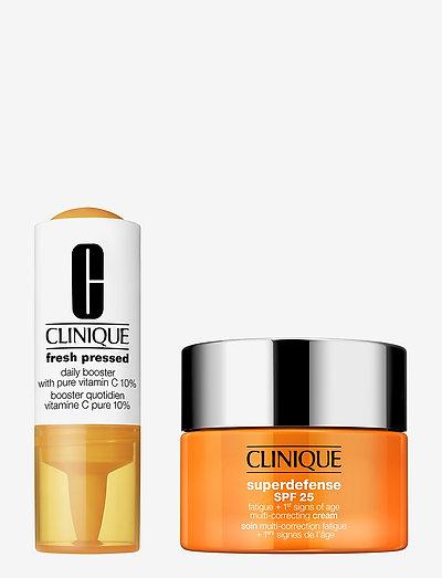 Fresh Pressed 7-Day Recharge: Vitamin C + Superdefense(1/2) - päivävoiteet - clear