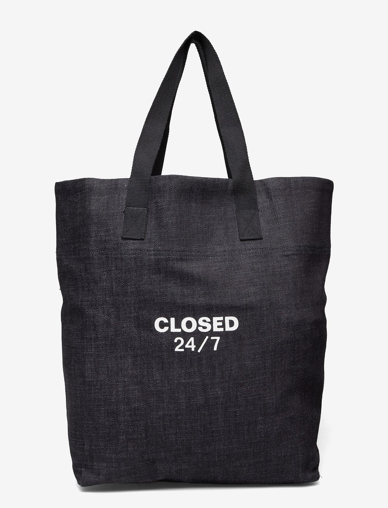 Closed - mens accessories - shoppers - dark blue - 0