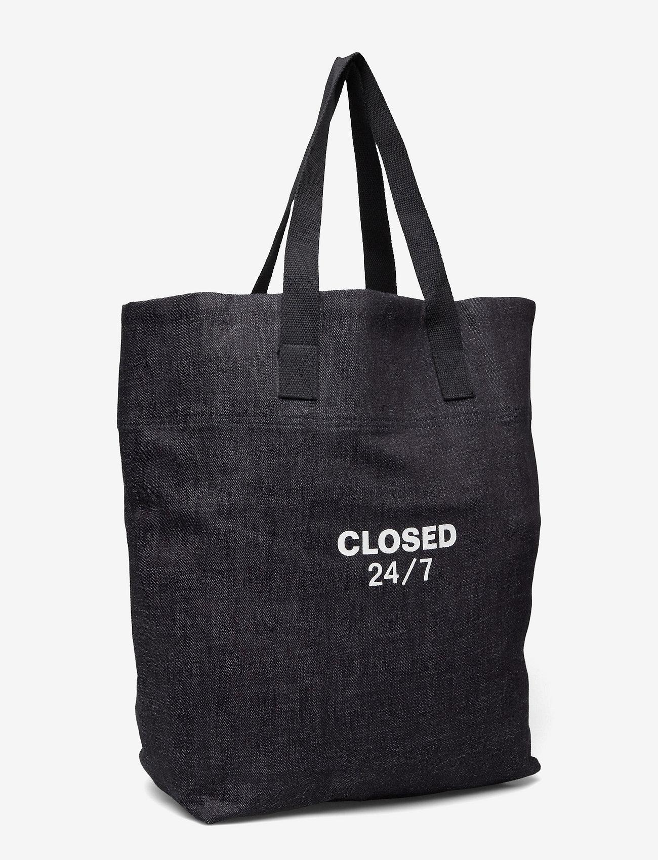 Closed - mens accessories - shoppers - dark blue - 2