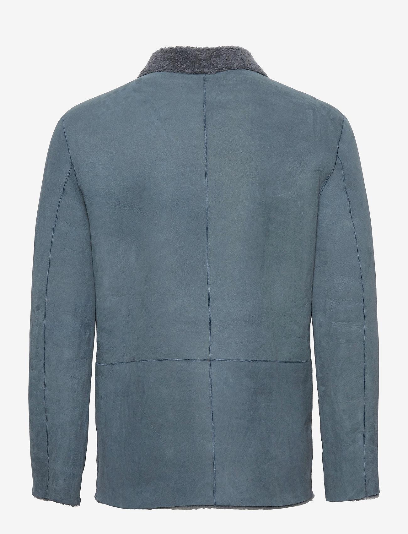 Closed - mens jacket - manteaux legères - blue slate - 1