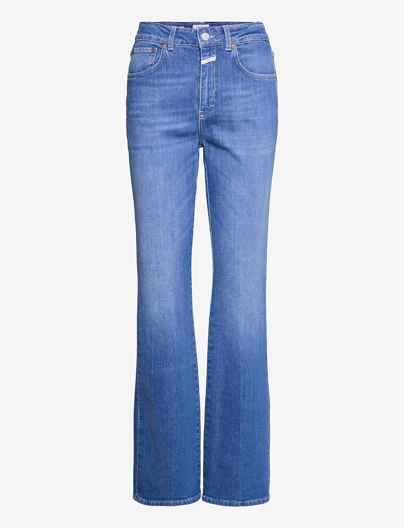Closed - womens pant - schlaghosen - mid blue - 0
