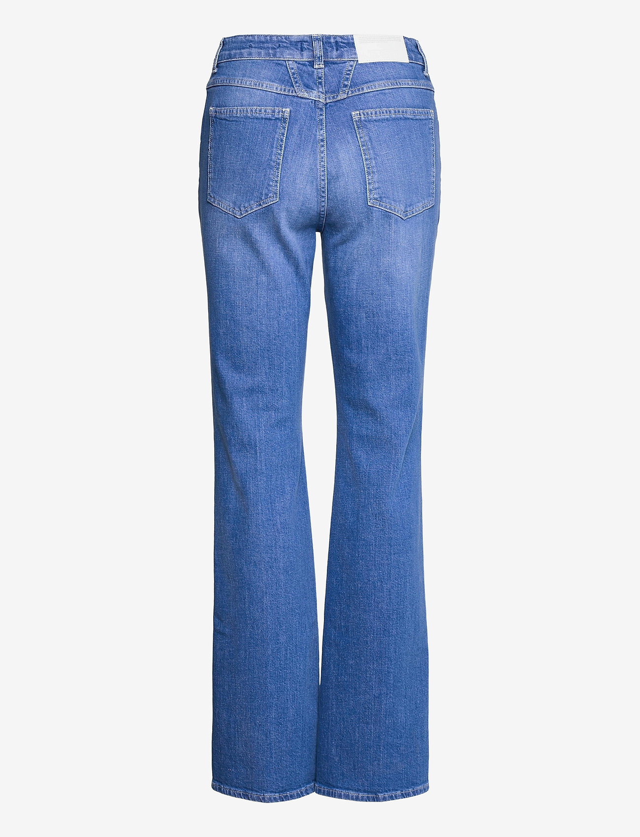 Closed - womens pant - schlaghosen - mid blue - 1