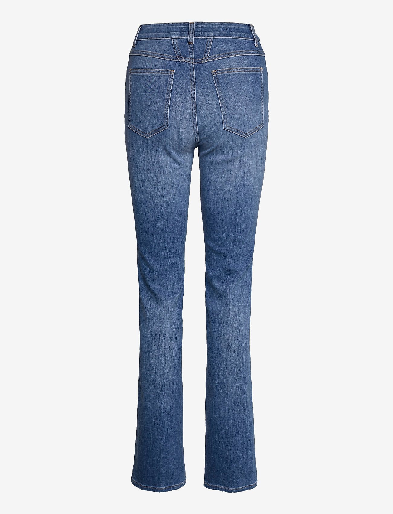 Closed - leaf - boot cut jeans - mid blue - 1