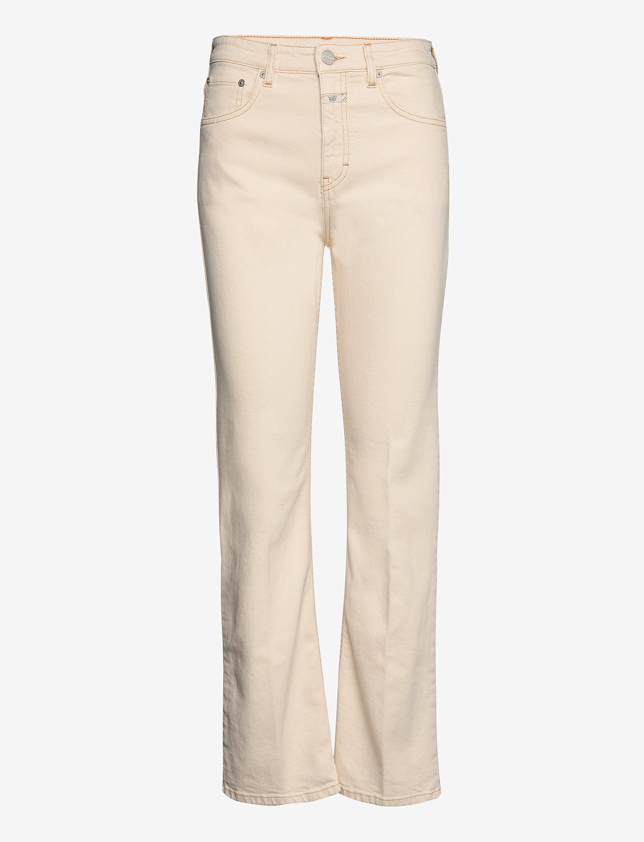 Closed - womens pant - schlaghosen - creme - 0