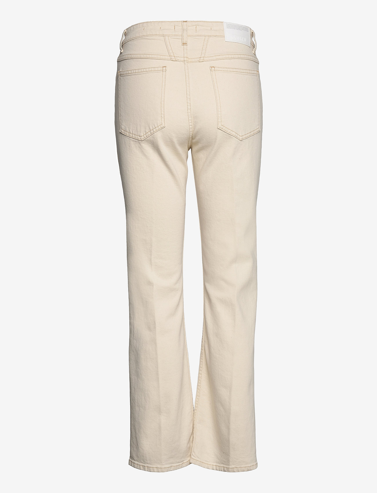 Closed - womens pant - schlaghosen - creme - 1