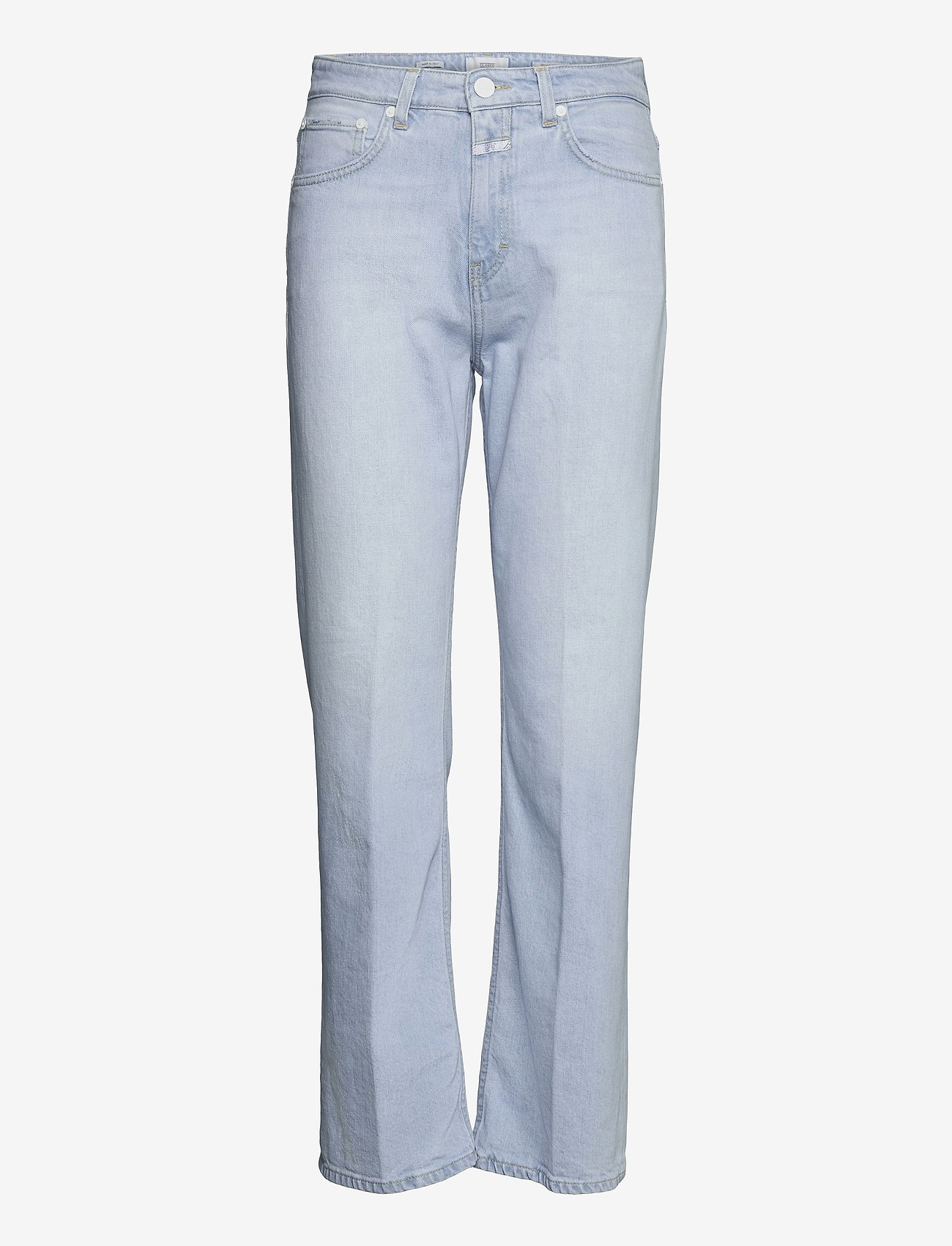 Closed - womens pant - straight regular - light blue - 0