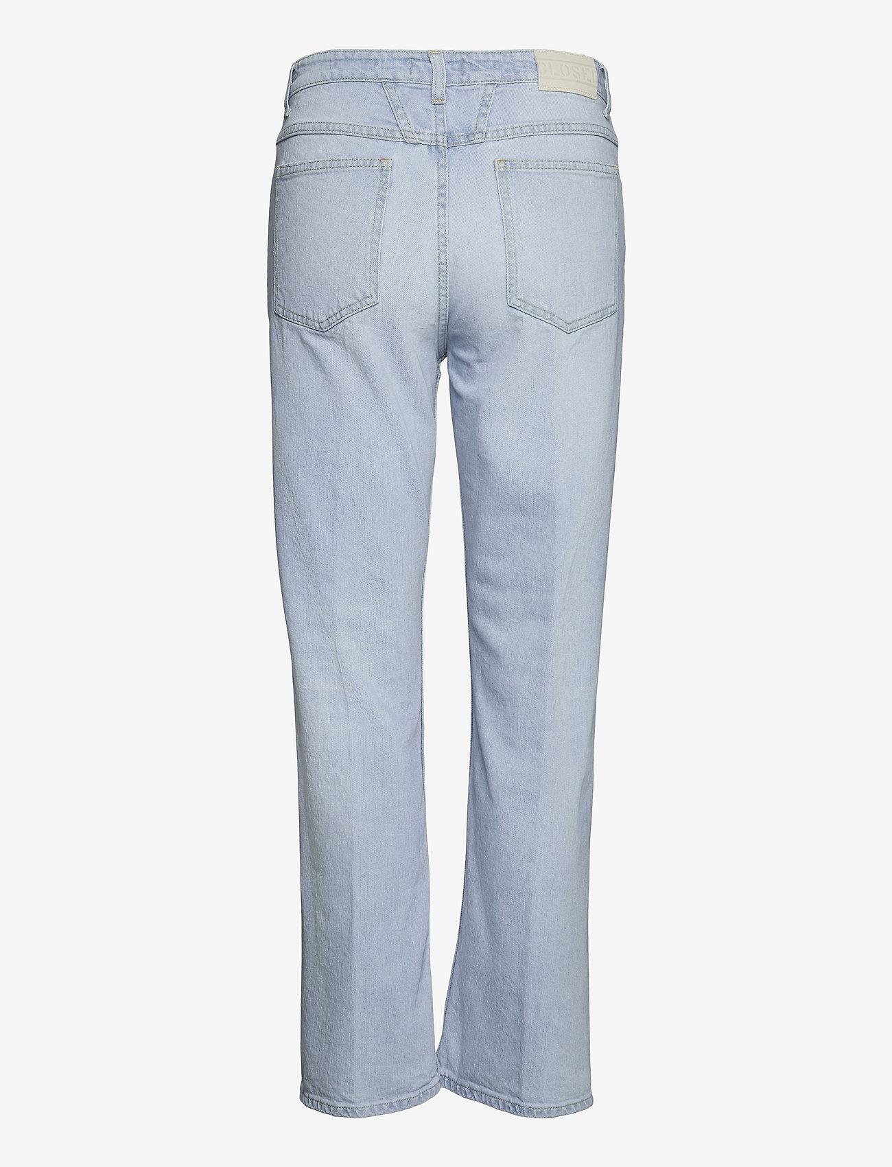 Closed - womens pant - straight regular - light blue - 1