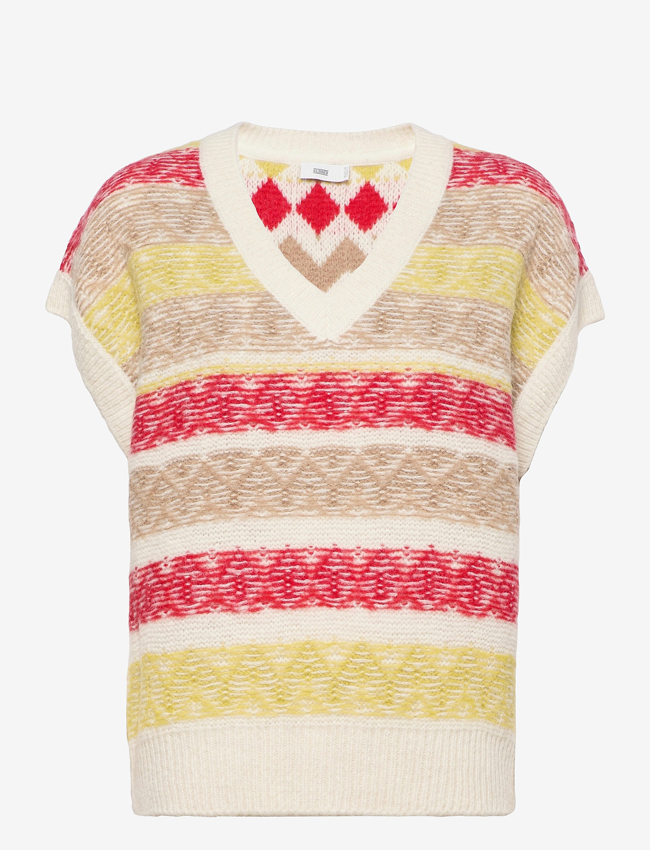 Closed - women´s knit - knitted vests - ivory - 0