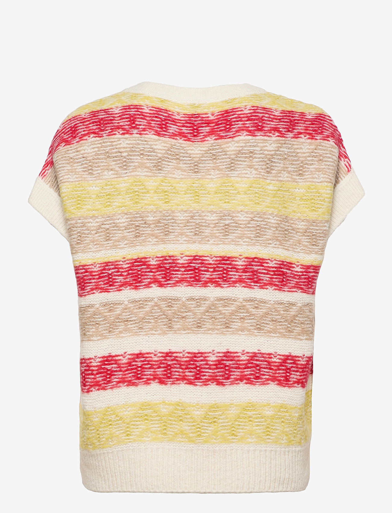 Closed - women´s knit - knitted vests - ivory - 1