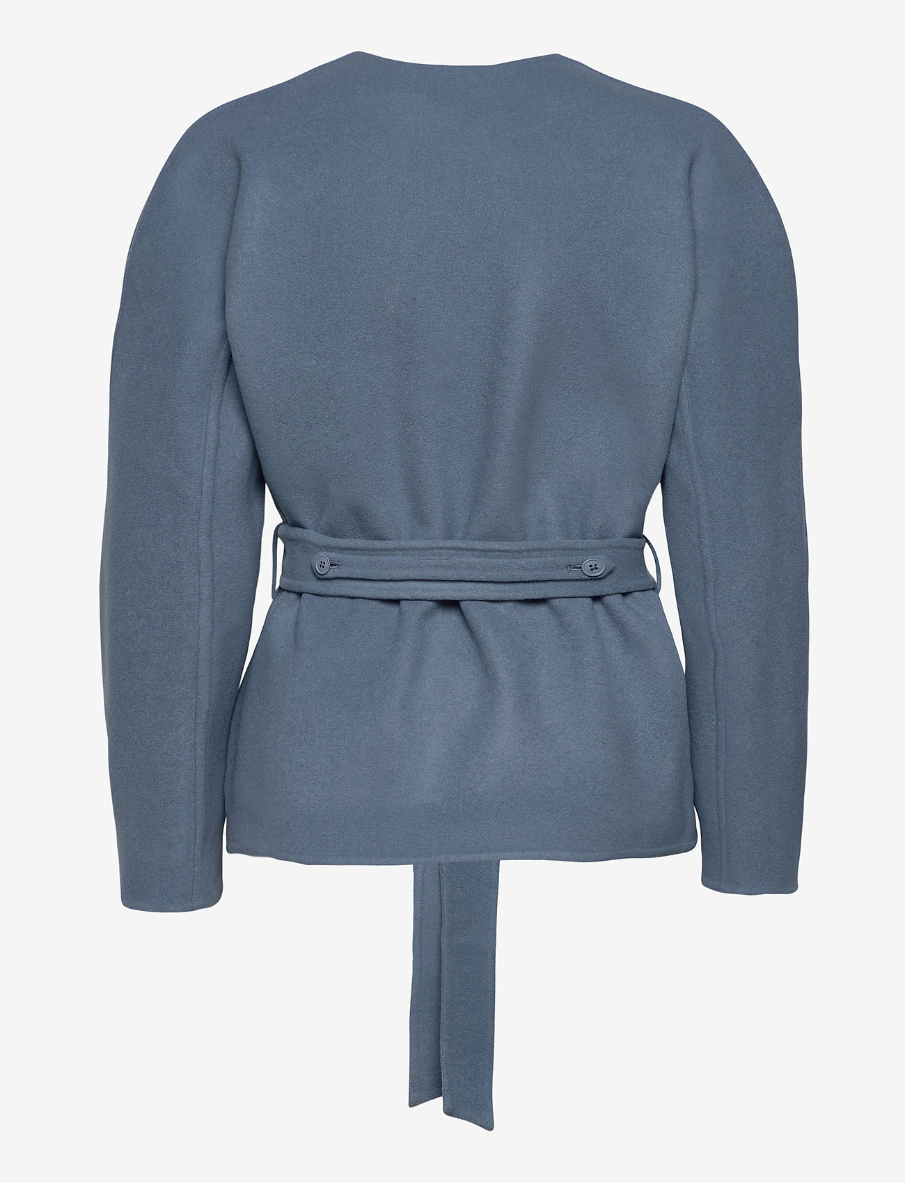Closed - amelie - wool jackets - commodore blue - 1