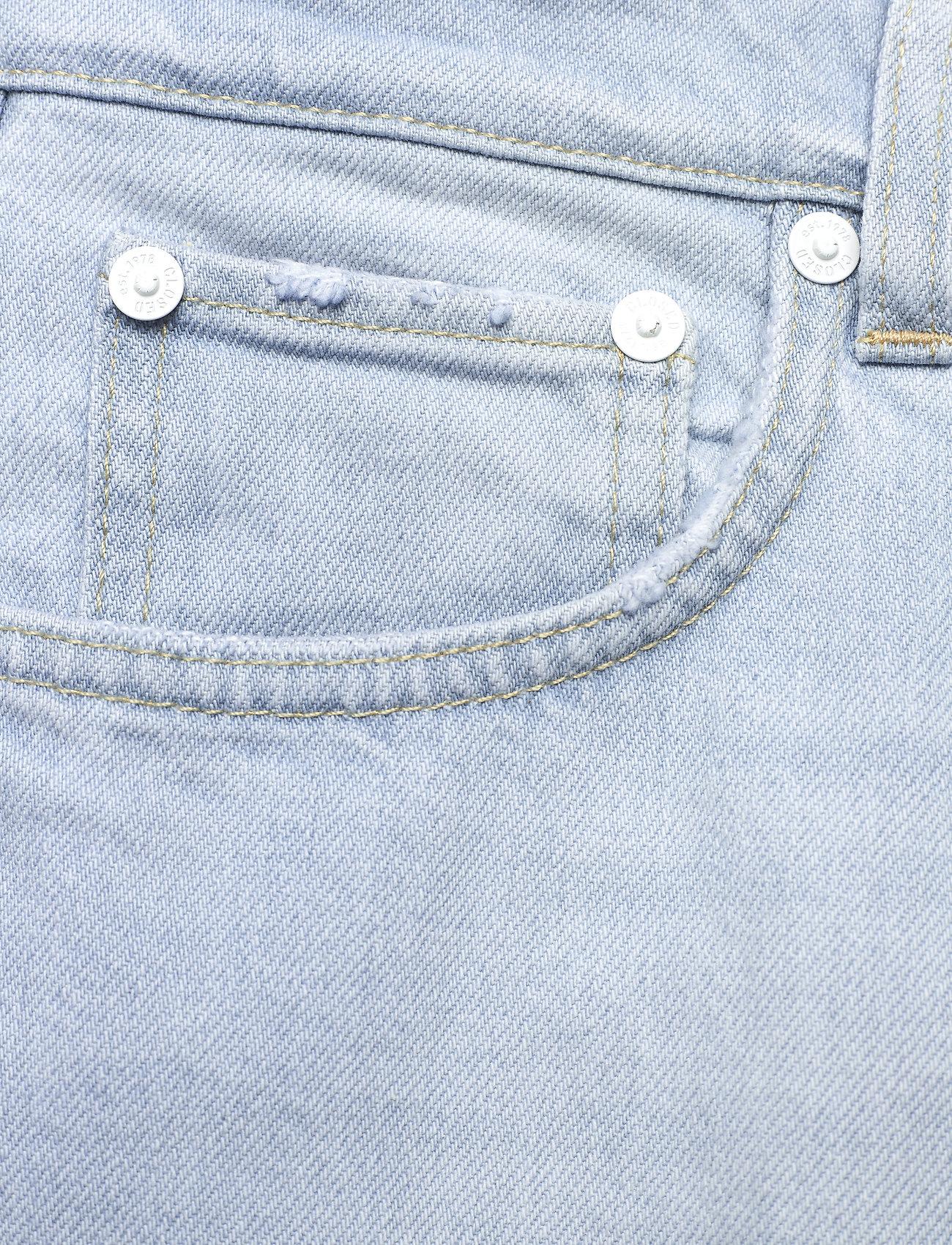 Closed - womens pant - straight regular - light blue - 2
