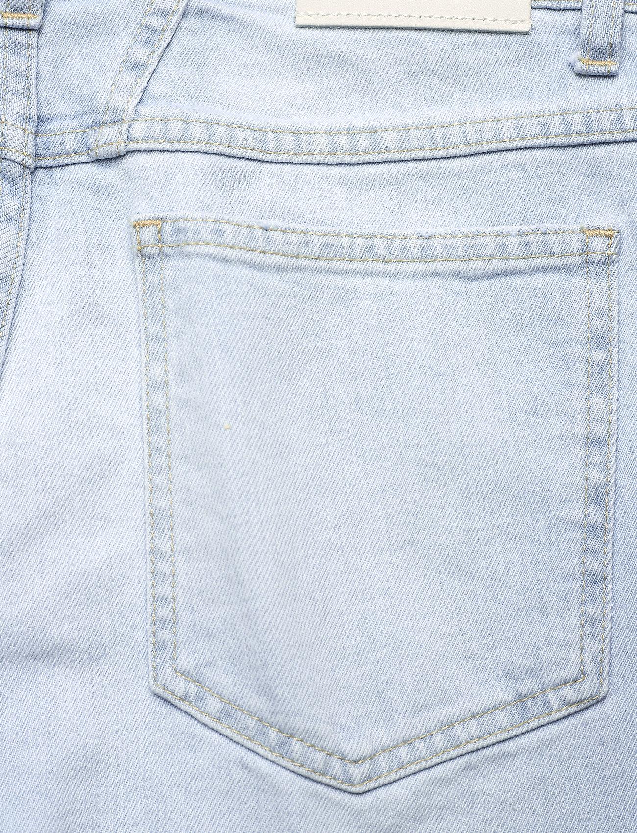 Closed - womens pant - straight regular - light blue - 4
