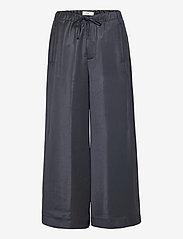Closed - womens pant - bukser med brede ben - thunder sky - 0