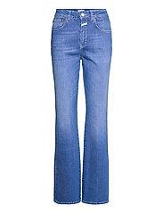 womens pant - MID BLUE