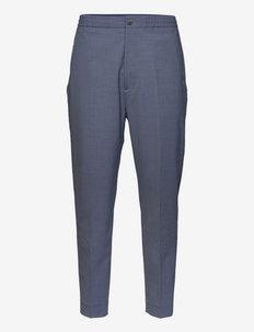 mens pant - suitbukser - blue slate