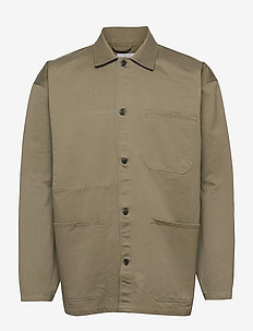 mens jacket - windjassen - pale khaki