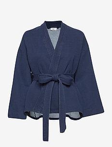 women´s top - kimonoer - dark blue