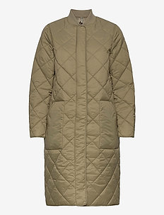 posy - quilted jassen - green umber