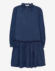 kari - everyday dresses - dark blue