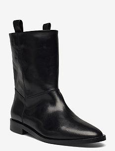 womens shoes - niski obcas - black