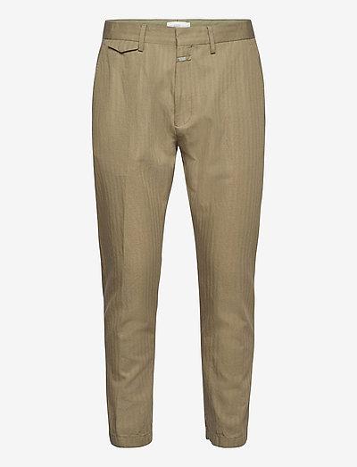 mens pant - spodnie na co dzień - grey fir