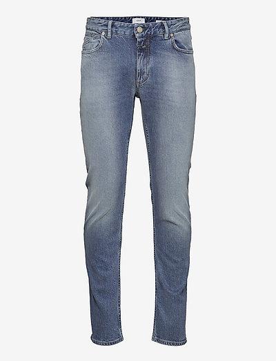 mens pant - slim jeans - light blue