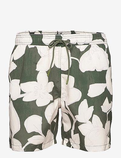 mens shorts - shorts de bain - grey fir