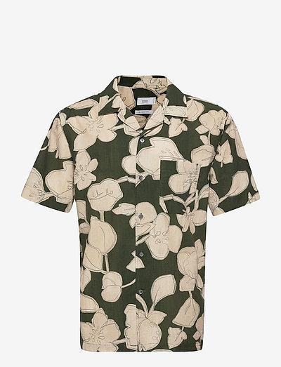 mens shirt - oxford-skjorter - grey fir