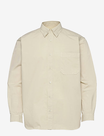 mens shirt - linneskjortor - antique white