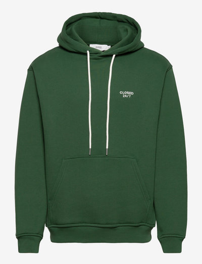 mens t & sweat-shirt - kapuzenpullover - fir green
