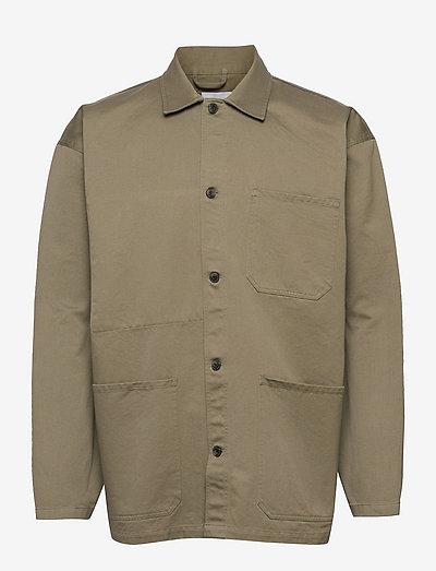 mens jacket - leichte jacken - pale khaki