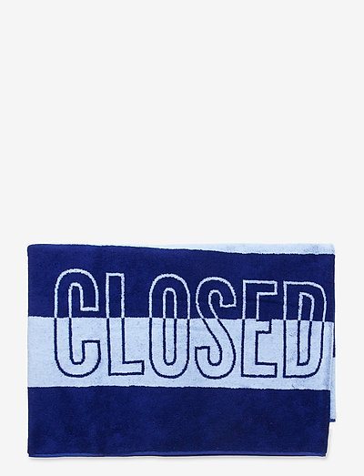 towel - tenue de plage - cobalt blue