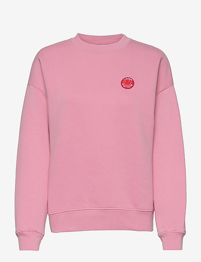 womens top - sweatshirts & hoodies - candy pink