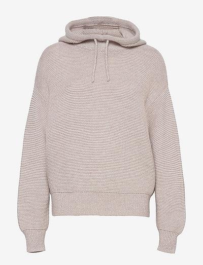 womens knits - tröjor - icy verbena