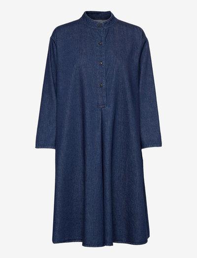 womens dress - sommarklänningar - dark blue