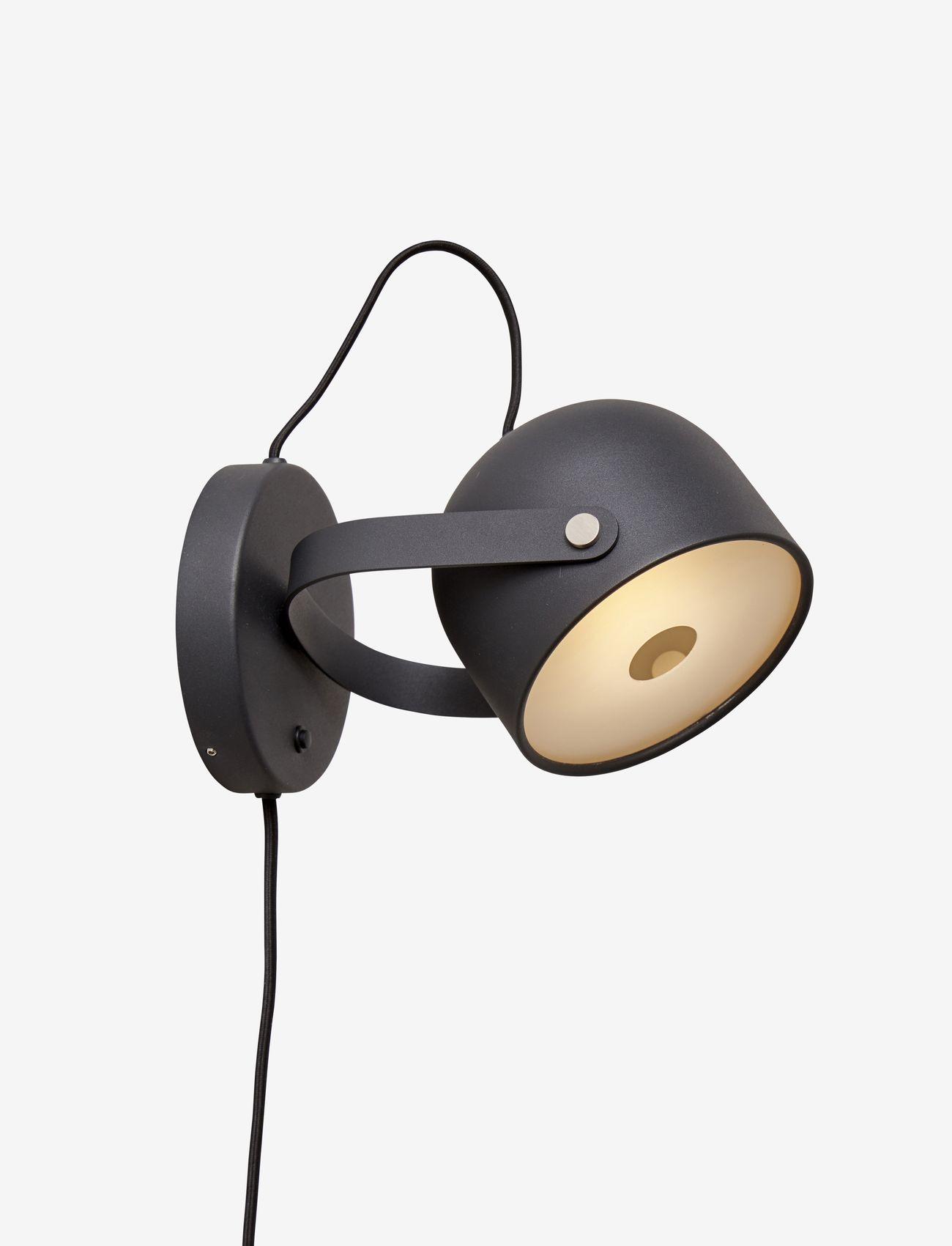 CO Bankeryd - SVEJK 13 WALL - væglamper - black - 0