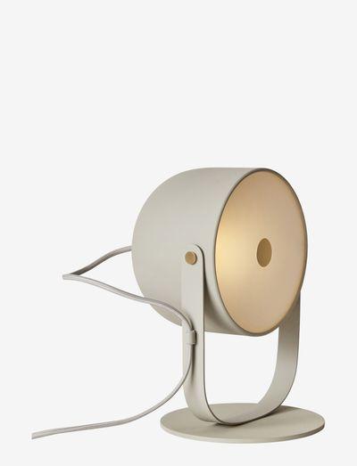 SVEJK 18 TABLE - bordlamper - beige