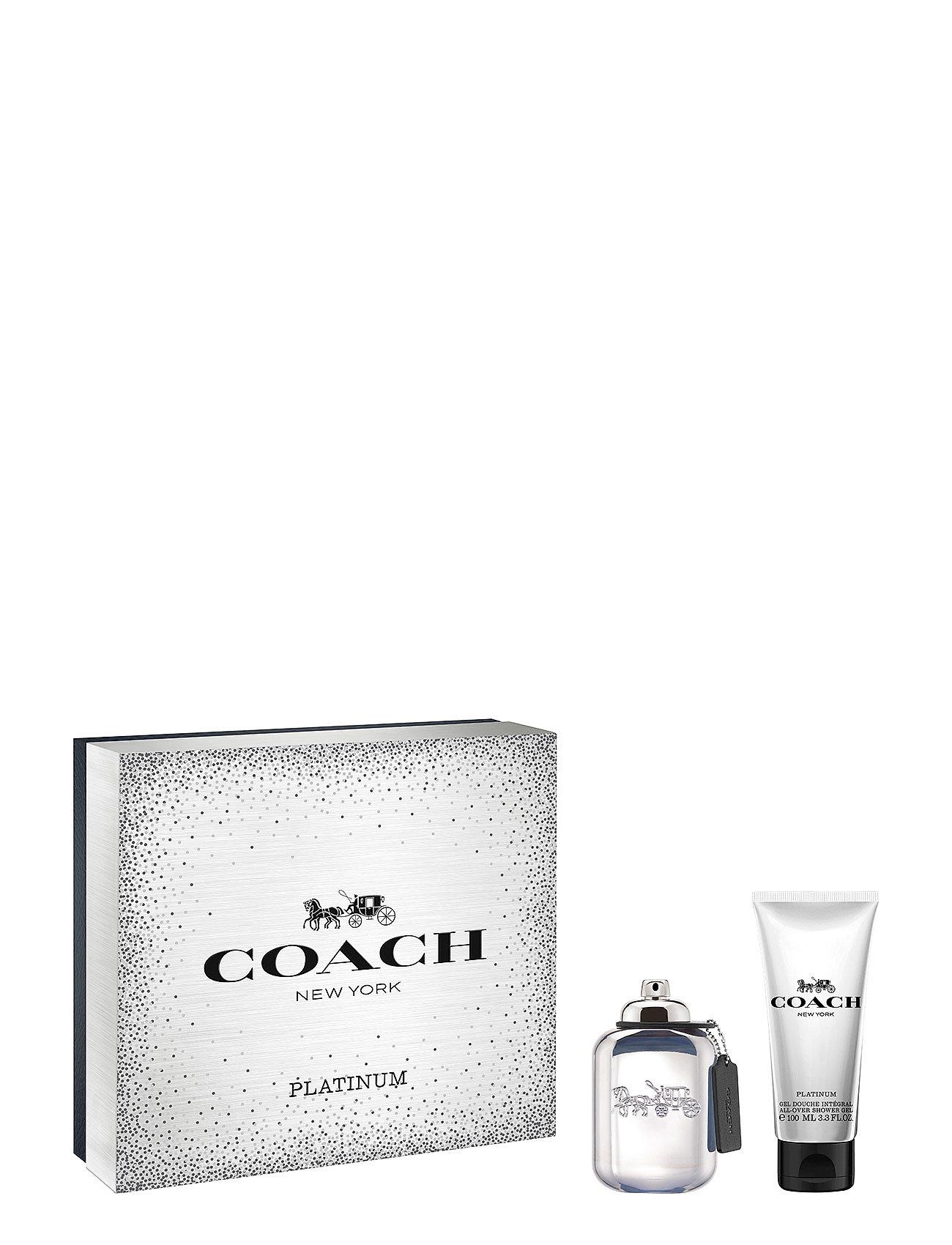 Coach Fragrance PLATINUM EDP EDP 60 ML & SHOWER GEL 100 ML - NO COLOR