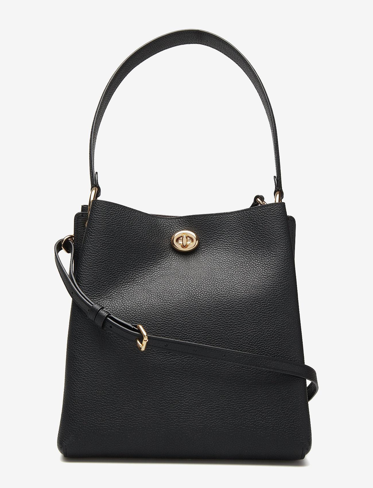 Coach Womens Bags Shoulder Bag - Handväskor Gd/black