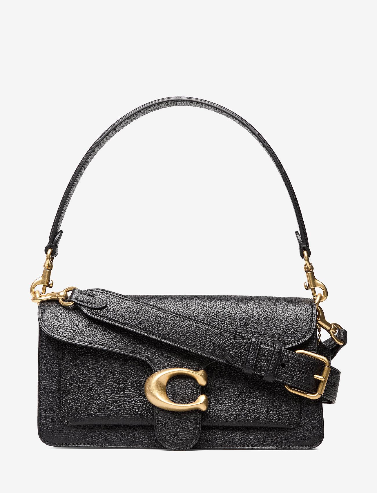 Coach - Polished Pebble Leather Tabby Shoulder Bag 26 - top handle - b4/black 2