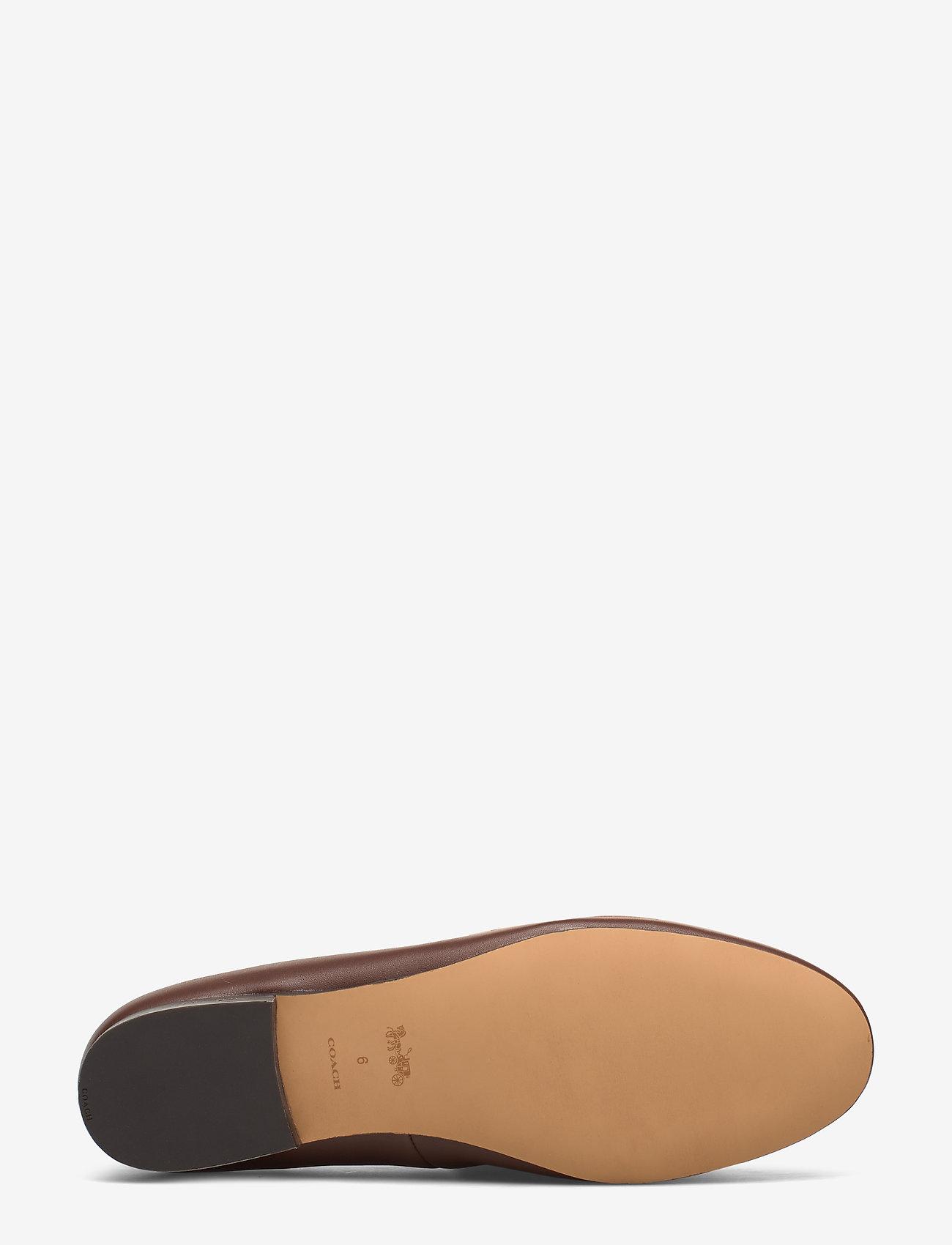 Harper Beadchain Loafer- Signature Mix (Dark Saddle/tan) - Coach