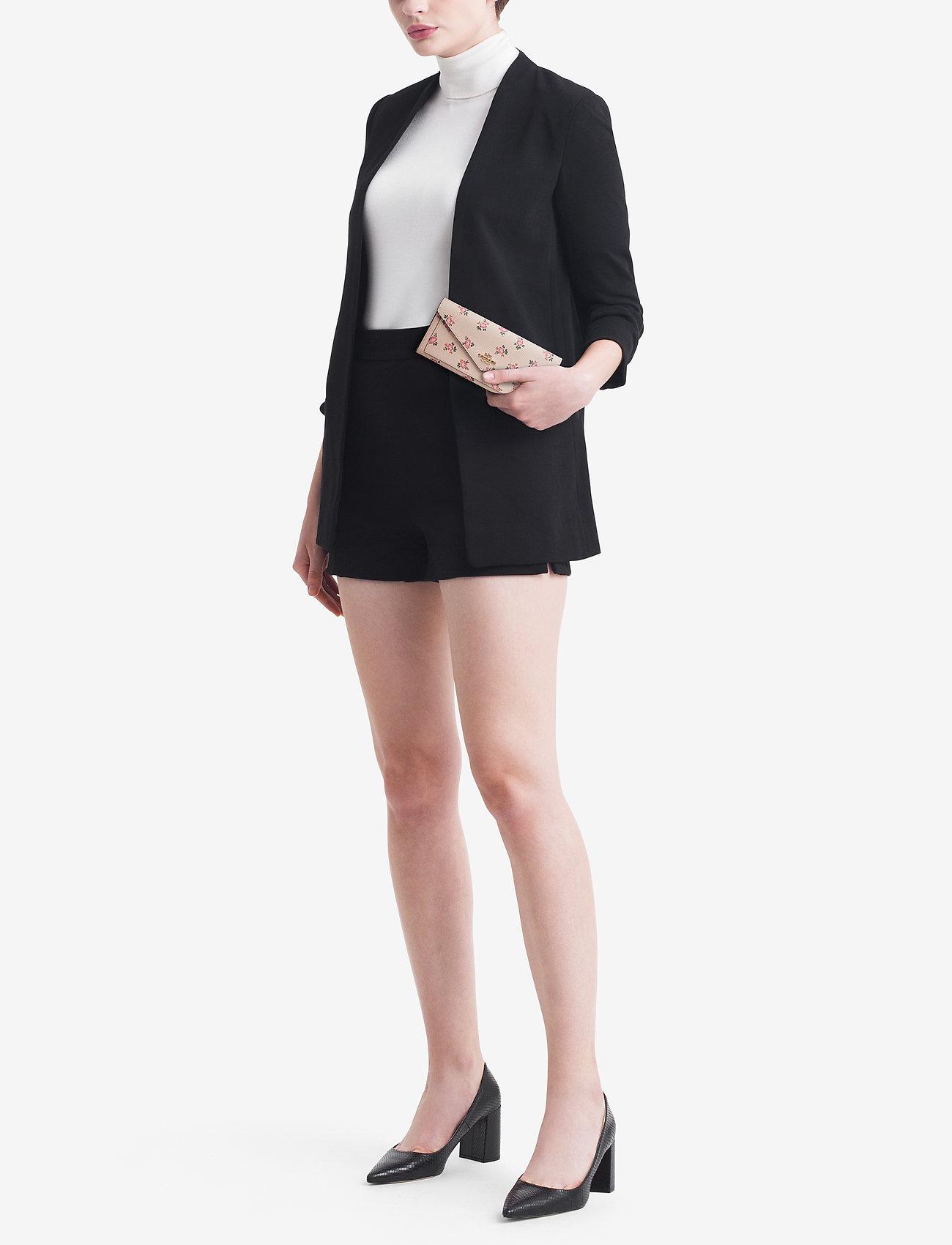 Coach Floral Bloom Soft Wallet - LI/BEECHWOOD FLORAL BLOOM PVC