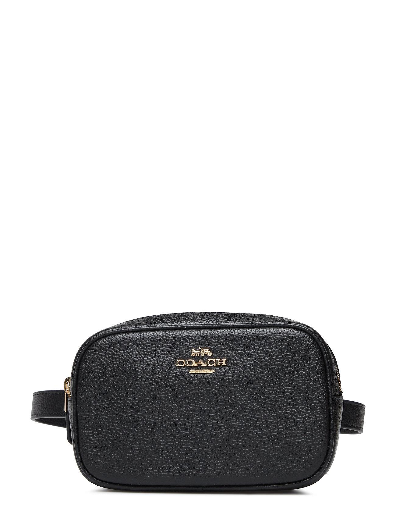 5d68623af639 Polished Pebble Dressy Belt Bag (Gd black) (225 €) - Coach - Laukut ...