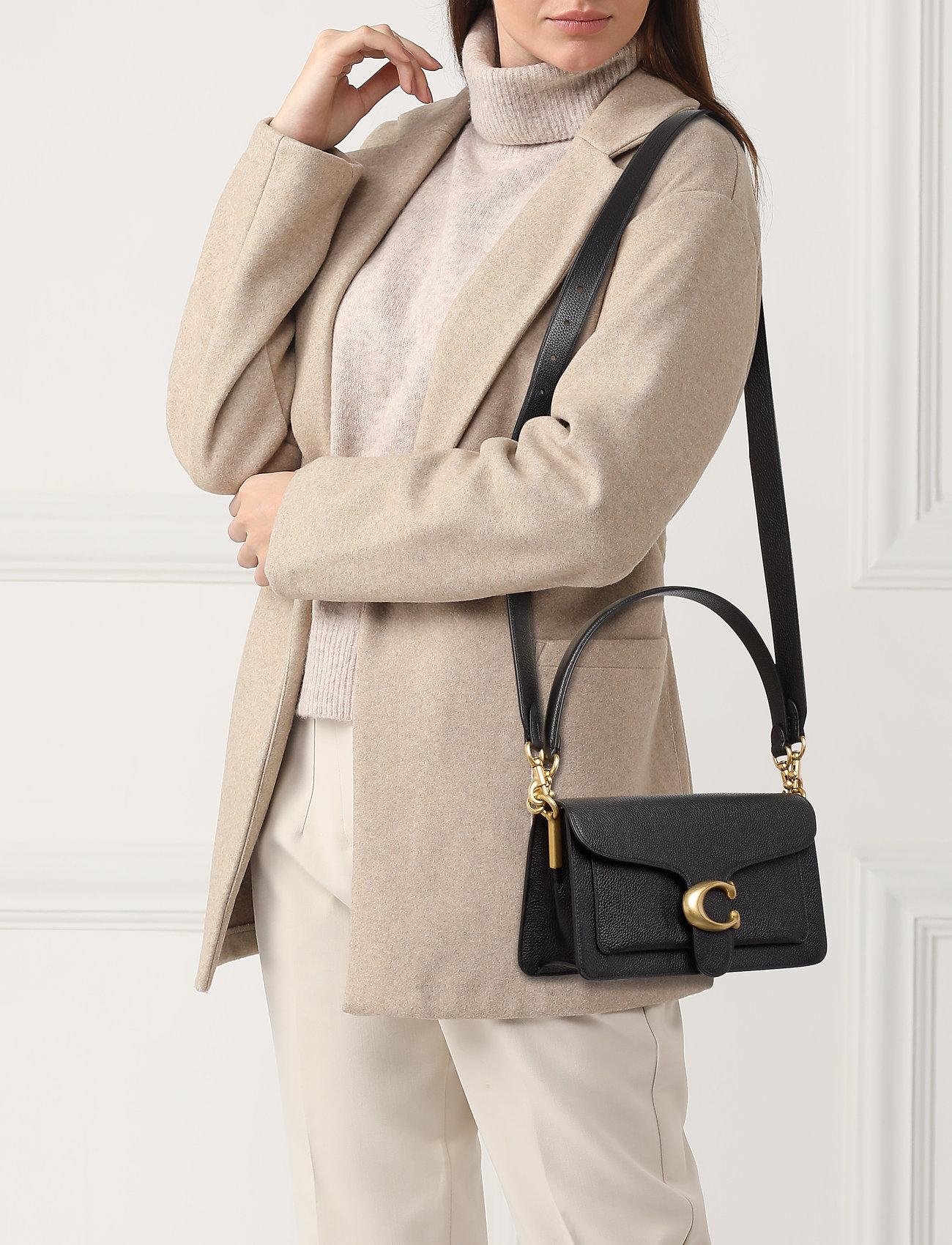 Coach Polished Pebble Leather Tabby Shoulder Bag 26 - B4/BLACK 2