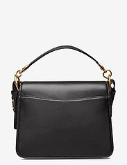 Coach - BEAT SHOULDER BAG Leather Womens Bags - väskor - black - 1