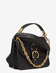 Coach - BEAT SHOULDER BAG Leather Womens Bags - väskor - black - 2