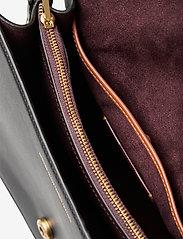 Coach - BEAT SHOULDER BAG Leather Womens Bags - väskor - black - 3